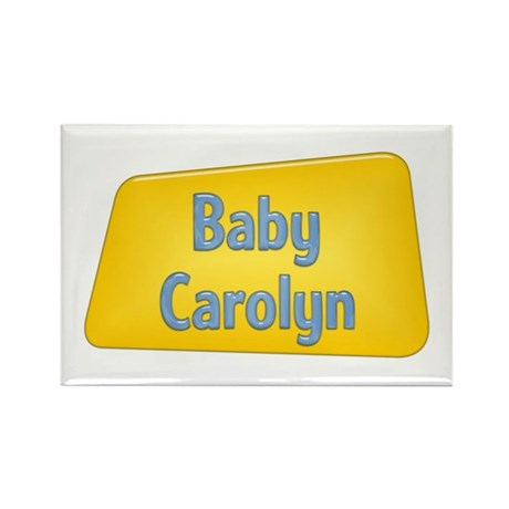 Baby Carolyn Rectangle Magnet