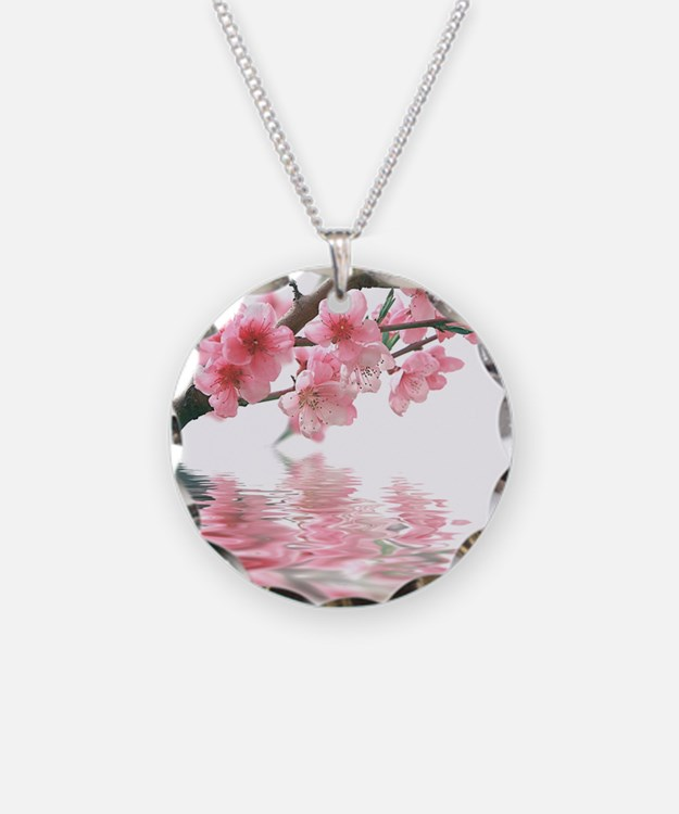 Flowers Water Reflection Necklace