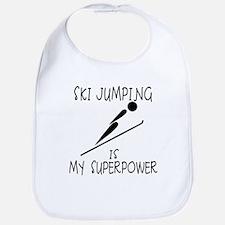 SKI JUMPING is My Superpower Bib