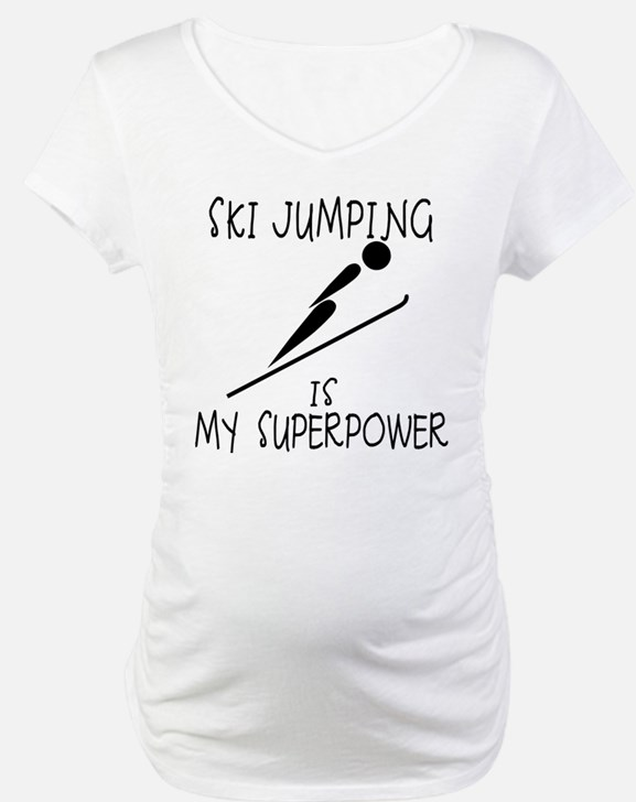 SKI JUMPING is My Superpower Shirt