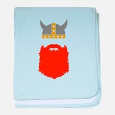 Viking baby blanket