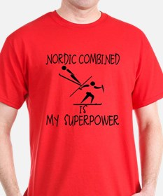 NORDIC COMBINED is My Superpower T-Shirt