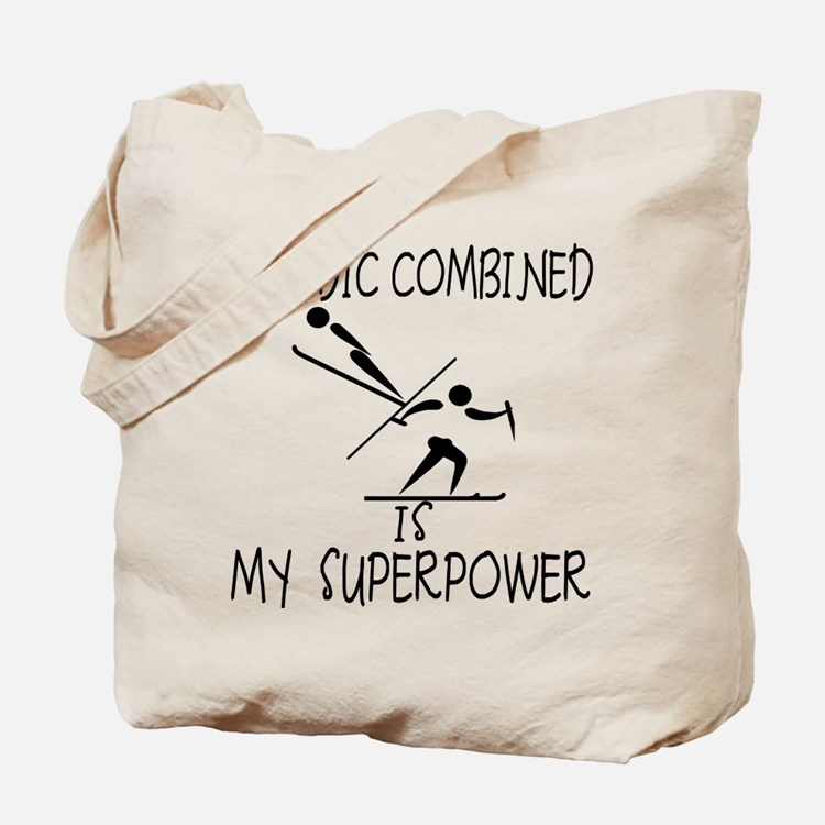 NORDIC COMBINED is My Superpower Tote Bag