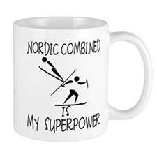 NORDIC COMBINED is My Superpower Mug