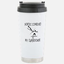 NORDIC COMBINED is My Superpower Travel Mug