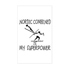NORDIC COMBINED is My Superpower Decal