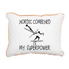 NORDIC COMBINED is My Superpower Rectangular Canva
