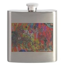 Funny Billionaires Flask