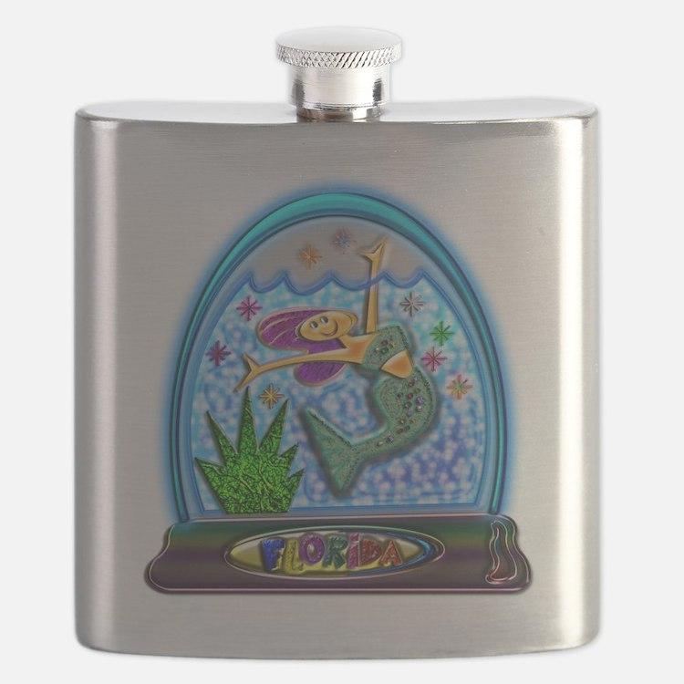 Cute Water gems Flask
