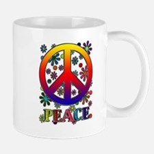 Cute Flower peace sign Mug