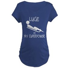 LUGE is My Superpower T-Shirt
