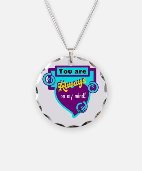 Always On My Mind-Willie Nelson Necklace