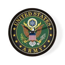 US Army Symbol Wall Clock