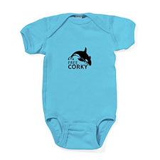 Free Corky Baby Bodysuit