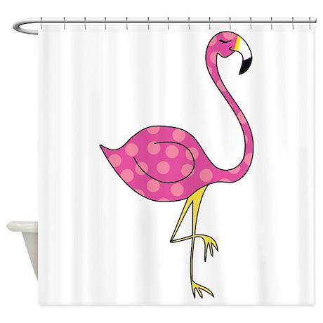 Flamingo Shower Curtain By Zuzuspetals