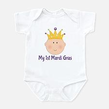 My 1st Mardi Gras Infant Bodysuit
