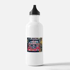 Big Red Fire Truck Water Bottle