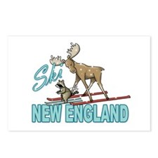 Ski New England Postcards (Package of 8)