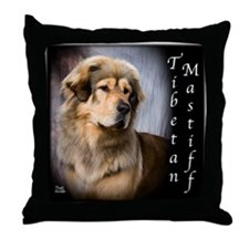 Tibetan Mastiff Throw Pillow