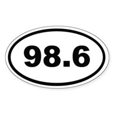 98.6 Decal