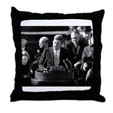 John F. Kennedy Throw Pillow
