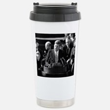John F. Kennedy Travel Mug