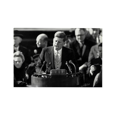John F. Kennedy Rectangle Magnet (100 pack)