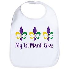 My 1st Mardi Gras Bib