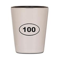 100 Shot Glass