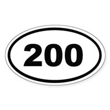200 Decal