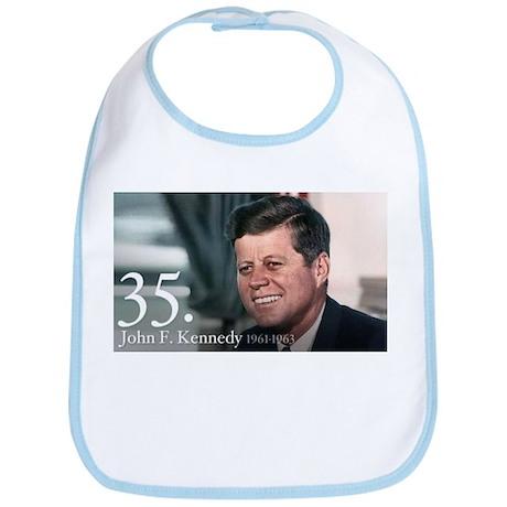 John F. Kennedy Bib