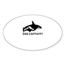 Save the Orcas - captivity kills Decal
