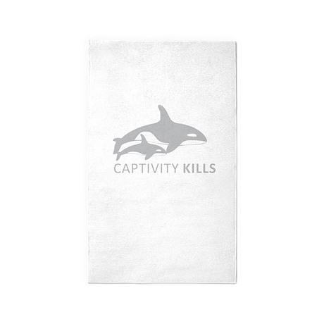 Captivity Kills 3'x5' Area Rug