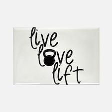 Live, Love, Lift Magnets