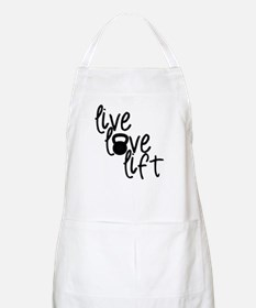 Live, Love, Lift Apron
