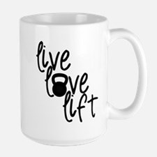 Live, Love, Lift Mugs