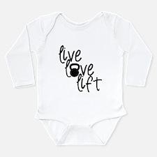 Live, Love, Lift Body Suit