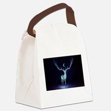 yule Canvas Lunch Bag