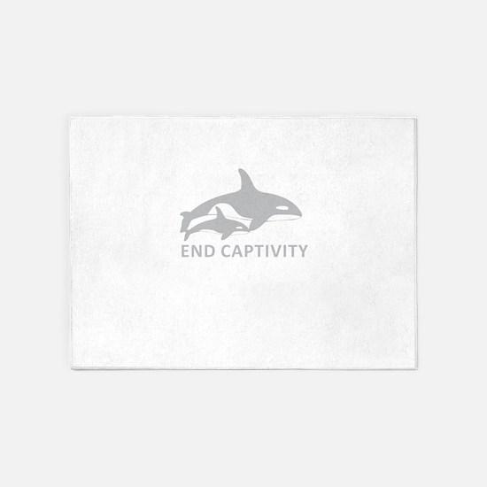 End Captivity 5'x7'Area Rug