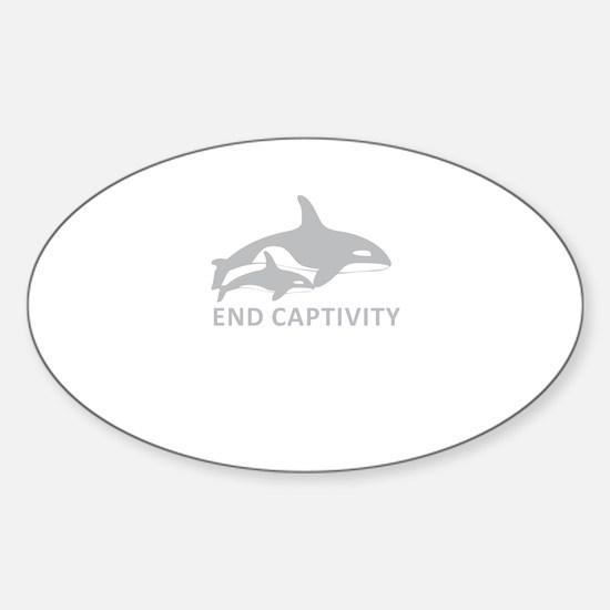 End Captivity Decal