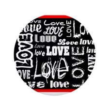 "All Kinds Of Love 3.5"" Button"