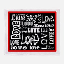 All Kinds Of Love Throw Blanket