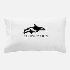 Captivity Kills Pillow Case