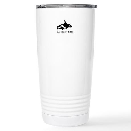 Captivity Kills Travel Mug