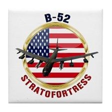 B-52 Stratofortress Tile Coaster
