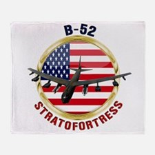 B-52 Stratofortress Throw Blanket