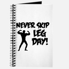 Never Skip Leg Day Journal