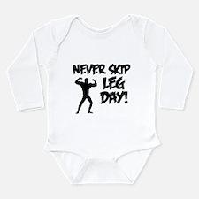 Never Skip Leg Day Body Suit