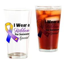 Bladder Cancer Support Drinking Glass