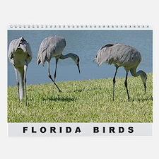 Florida Birds Wall Calendar